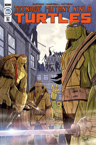TMNT ONGOING #108 1:10 INCV BROOKS
