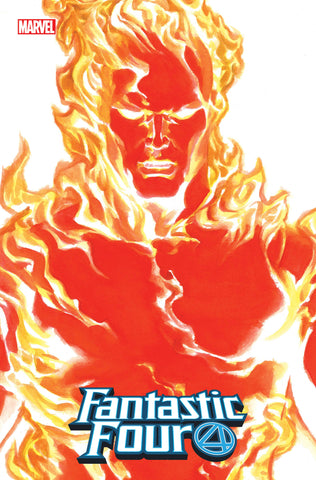 FANTASTIC FOUR #24 ALEX ROSS HUMAN TORCH TIMELESS VAR EMP