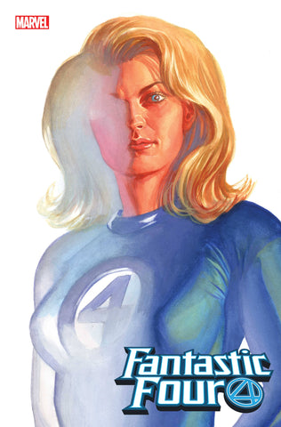FANTASTIC FOUR #24 ALEX ROSS INVISIBLE WOMAN TIMELESS VAR EM