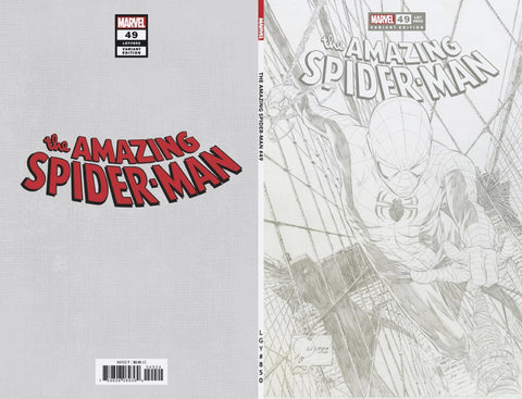 AMAZING SPIDER-MAN #49 QUESADA SKETCH VAR 1:100