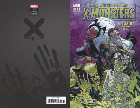 X-MEN #13 DAUTERMAN LEGION X-MONSTERS HORROR VAR XOS