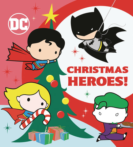 DC JUSTICE LEAGUE CHRISTMAS HEROES BOARD BOOK (C: 1-1-0)