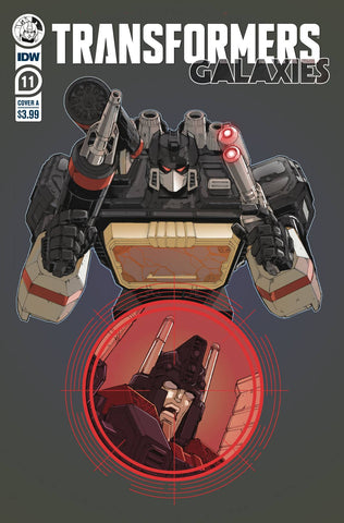 TRANSFORMERS GALAXIES #11 CVR A GRIFFITH