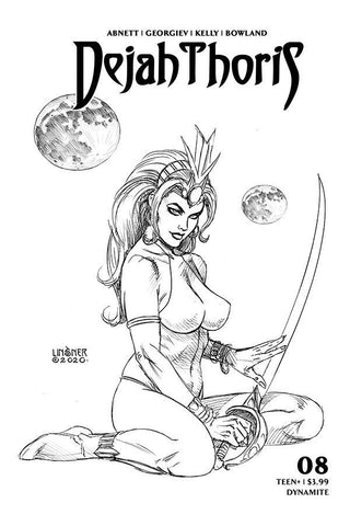 DEJAH THORIS (2019) #8 20 COPY LINSNER B&W INCV