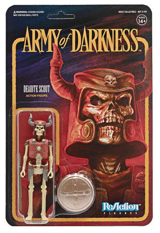ARMY OF DARKNESS DEADITE SCOUT REACTION FIGURE