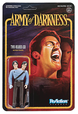 ARMY OF DARKNESS TWO-HEADED ASH REACTION FIGURE