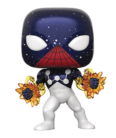POP SPIDER-MAN CAPTAIN UNIVERSE VINYL FIG