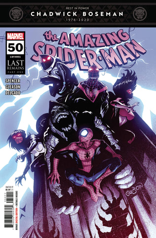 AMAZING SPIDER-MAN #50 LAST