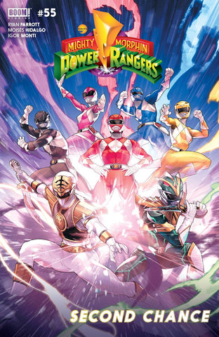 MIGHTY MORPHIN POWER RANGERS #55 CVR A MAIN
