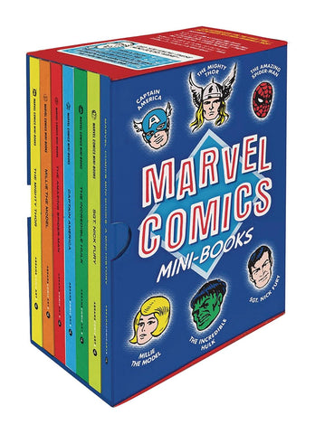 MARVEL COMICS MINI-BOOKS COLLECTIBLE BOXED SET (APR208820)