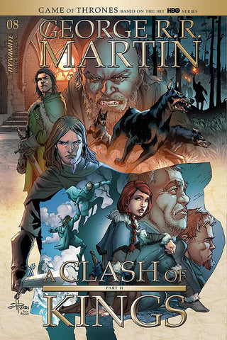 GEORGE RR MARTIN A CLASH OF KINGS #8 CVR B RUBI
