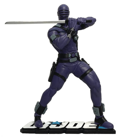 GI JOE SNAKE EYES 1:8 SCALE PVC STATUE