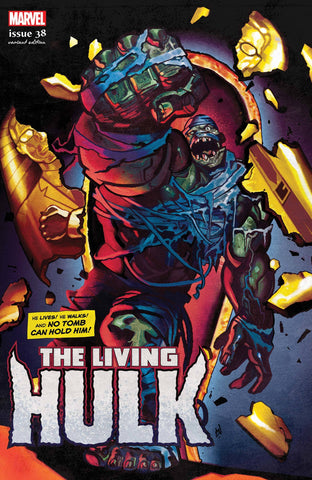 IMMORTAL HULK #38 DEL MUNDO LIVING HULK HORROR VAR