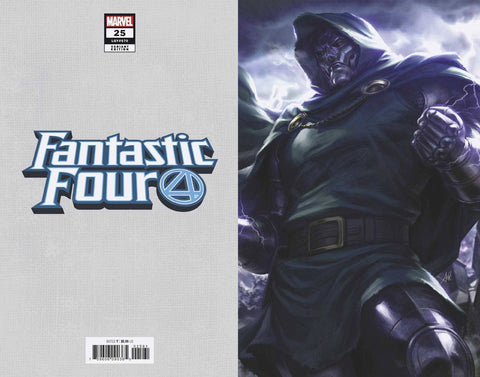 FANTASTIC FOUR #25 ARTGERM VIRGIN VAR 1:100
