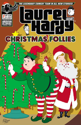 LAUREL & HARDY CHRISTMAS FOLLIES #1 CVR A SHANOWER