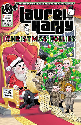 LAUREL & HARDY CHRISTMAS FOLLIES #1 CVR B PACHECO