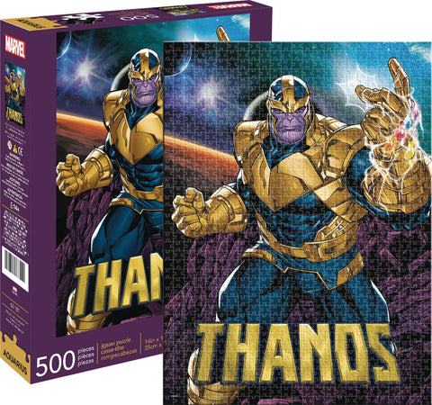 MARVEL THANOS 500 PIECE PUZZLE