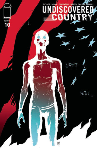 UNDISCOVERED COUNTRY #10 CVR B SORRENTINO
