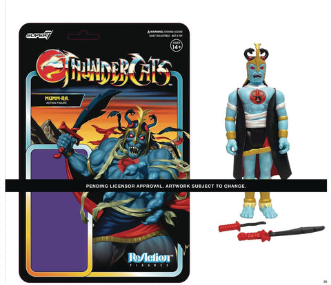 THUNDERCATS WAVE 1 MUMM-RA REACTION FIGURE (NET) (C: 1-1-2)