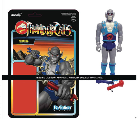 THUNDERCATS WAVE 1 PANTHRO REACTION FIGURE (NET) (C: 1-1-2)