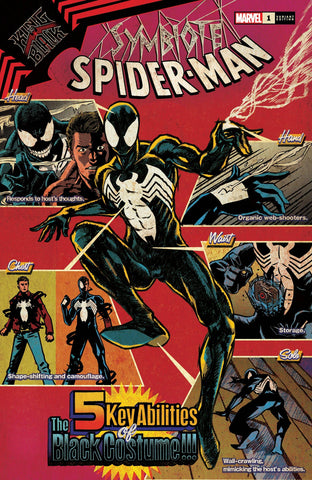 SYMBIOTE SPIDER-MAN KING IN BLACK #1 SUPERLOG VAR