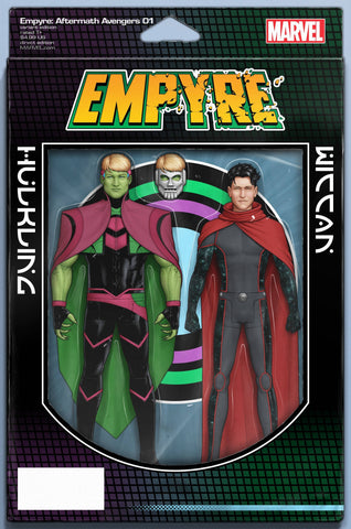 EMPYRE AFTERMATH AVENGERS #1 CHRISTOPHER ACTION FIGURE VAR