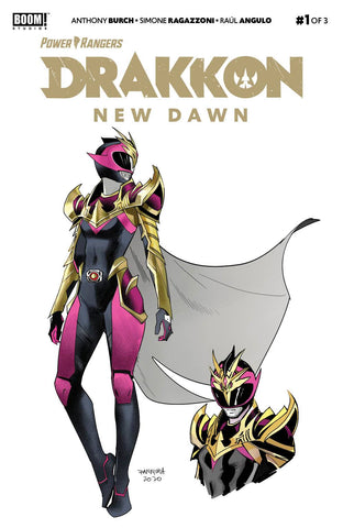 POWER RANGERS DRAKKON NEW DAWN #1 (2ND PTG) (C: 1-0-0)