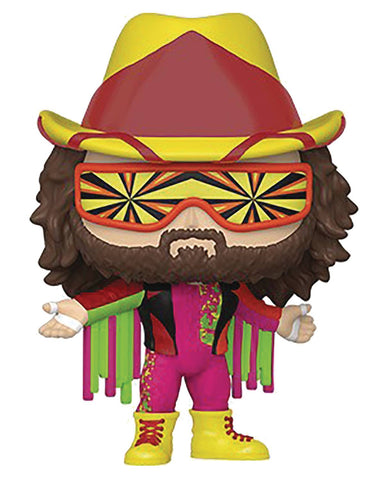 POP WWE MACHO MAN RANDY SAVAGE VINYL FIG