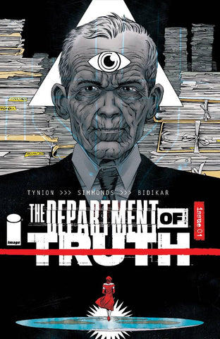 DEPARTMENT OF TRUTH #1 10 COPY INCV SHALVEY
