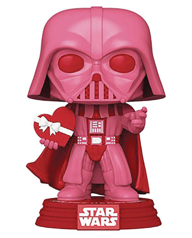 POP STAR WARS VALENTINES VADER W/ HEART VIN FIG