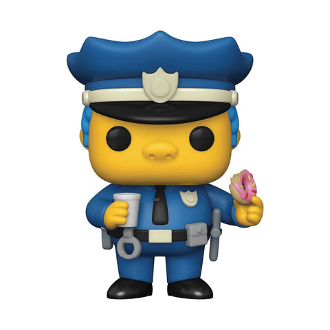 POP ANIMATION SIMPSONS CHIEF WIGGUM VIN FIG