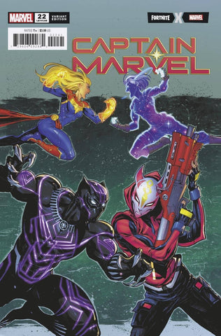 CAPTAIN MARVEL #22 COELLO FORTNITE VAR