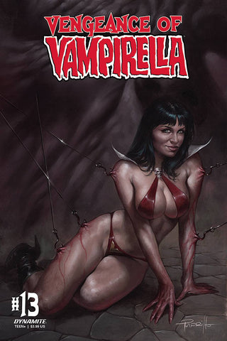 VENGEANCE OF VAMPIRELLA #13 CVR A PARRILLO