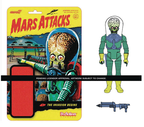 MARS ATTACKS INVASION BEGINS REACTION FIGURE
