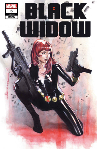 BLACK WIDOW #5 COIPEL VAR 1:25