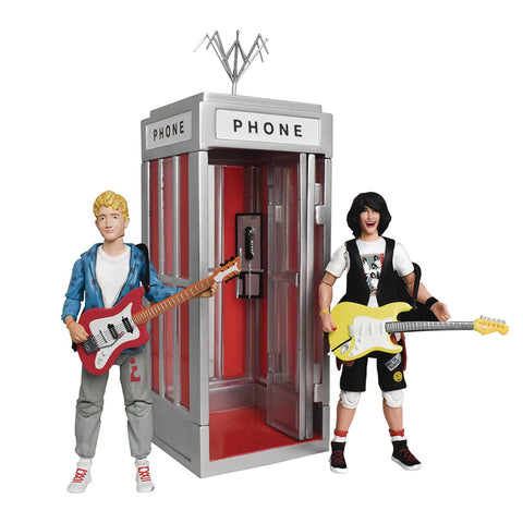 BILL AND TEDS EXCELLENT ADVENTURE PHONE BOOTH VEHICLE W/BILL