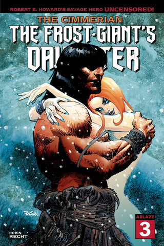 CIMMERIAN FROST GIANTS DAUGHTER #3 CVR A DAN PANOSIAN