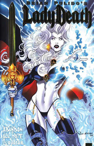 LADY DEATH ABANDON ALL HOPE GOLD FOIL SET (5CT) (MR) (C: 0-1