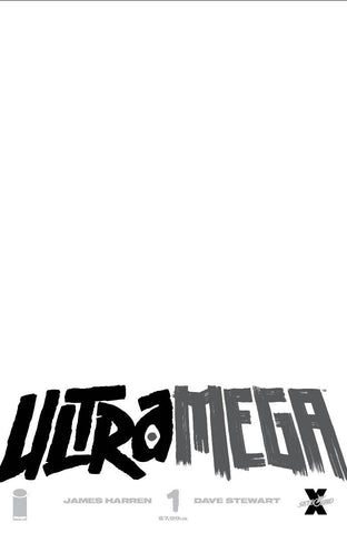 ULTRAMEGA BY JAMES HARREN #1 CVR C BLANK CVR
