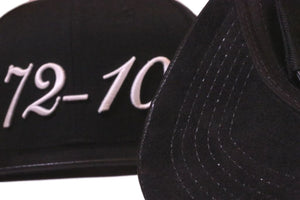 72-10 (Tumbled Leather/Suede) Strapback Hat