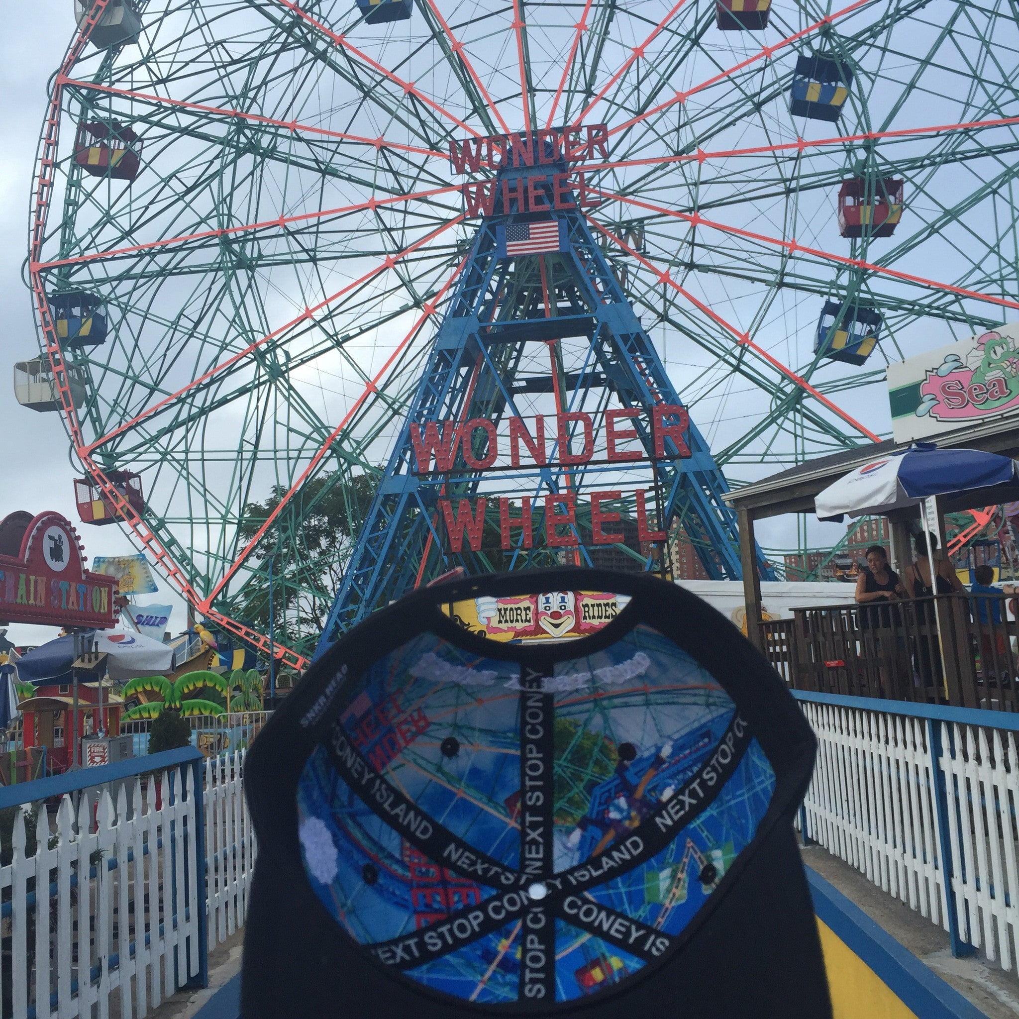 BROOKLYN BOUND Coney Island Snapback Hat