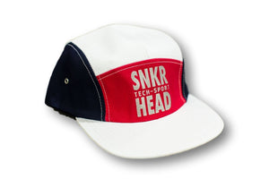 SNKR HEAD Tech Sport Strapback Hat (Red/White/Blue)