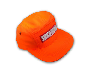 SNKR HEAD 5panel Strapback Hat (orange)