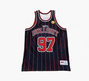 PARTY AND BULLSHIT Jersey (pinstripe)