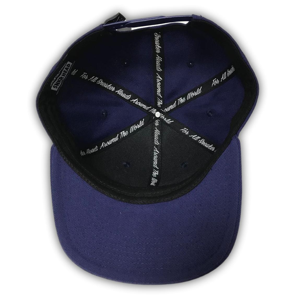 718 Navy Blue (NEW YORK Area Code) Snapback Hat