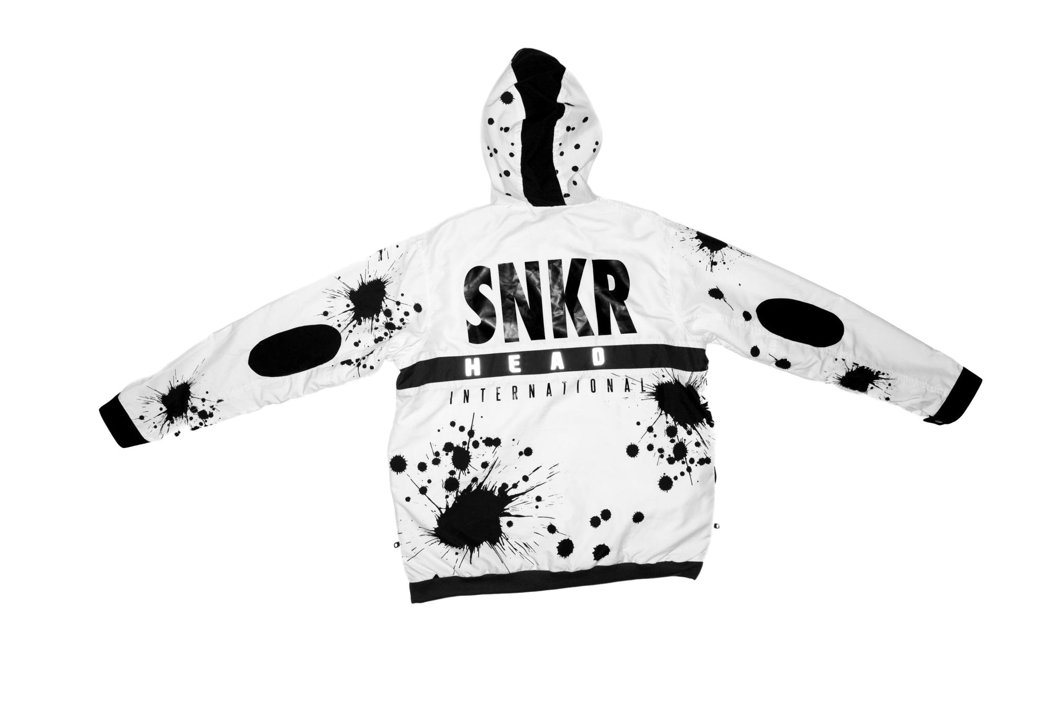 SNKR HEAD Tech Sport Jacket (Paint Spatter)