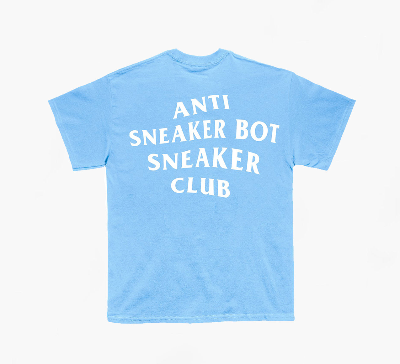 Anti Sneaker Bot Carolina Blue T-shirt (white)