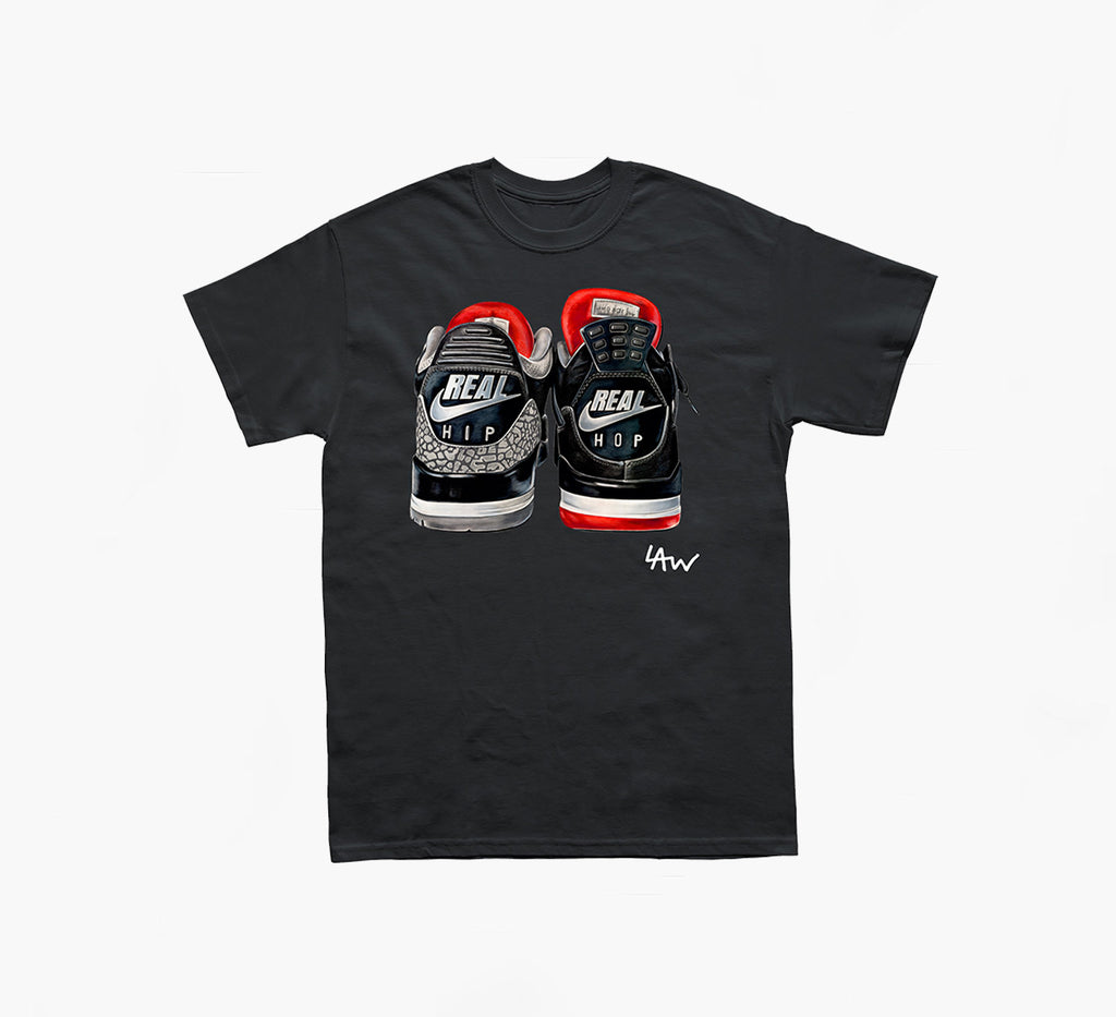 Laurens Drawing X SNKRHEAD Black T-shirt