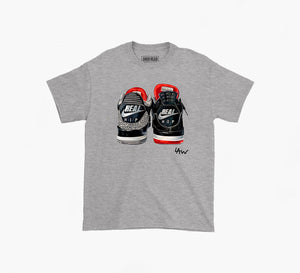 Laurens Drawing X SNKRHEAD Tee (grey)