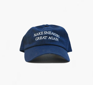 Make Sneakers Great Again Navy Blue DAD Hat
